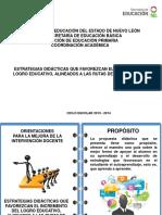 Orientaciones Didacticas Para Espanol 1