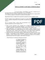 Capítulo VIII Instalaciones Sanitarias Domiciliarias RECUPERADO