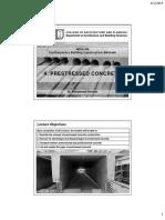 4- Prestressed Concrete