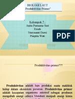k.7 Produktivitas Primer