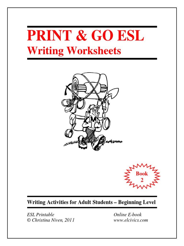 Esl Ebook Writing 2pdf Salad E Books