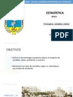 1raclaseestadisticayvariables-160411180155