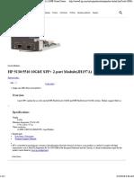 5510 10GbE SFP+ 2-port Module (JH157A)