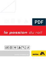 Matisa - Passion Du Rail En