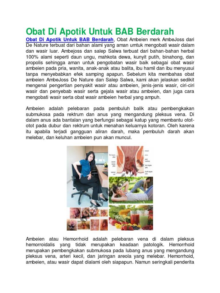 Obat Di Apotik Untuk Bab Berdarah Hemmorhoida Ambien Wasir Ambeien 1533894183v1
