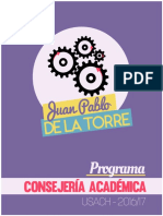 Programa Consejería Académica - Juan Pablo