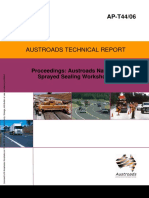 AP-T44 06 Proceedings- Austroads National Sprayed Sealing Workshops