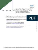 Robertson Artic vs Lido JADA 2007