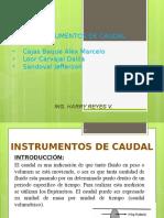 medidores de fluido