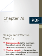 Chaptey 7 Supplement - Design and Effective Capacity
