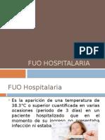 FUO Hospitalaria, FUO Neutropénica, FUO Vih y Tratamiento.