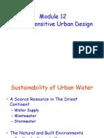 Module 12 - Water Sensitive Urban Design