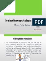 3 Evaluacion en Psicología Juridica
