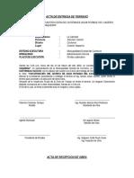 Actas de Entrega de Terreno y Recepcion de Obra Agua Potable Vaqueria (3)