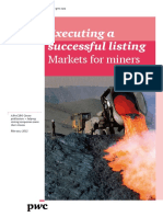 Pwc Markets for Miners