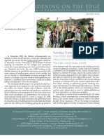 Gardening on the Edge Newsletter, Fall 2009 ~ Monterey Bay Master Gardeners
