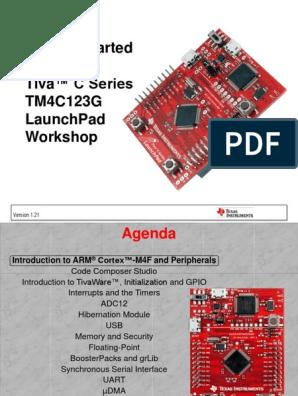 Tiva C Series LaunchPad | Usb | Analog To Digital Converter