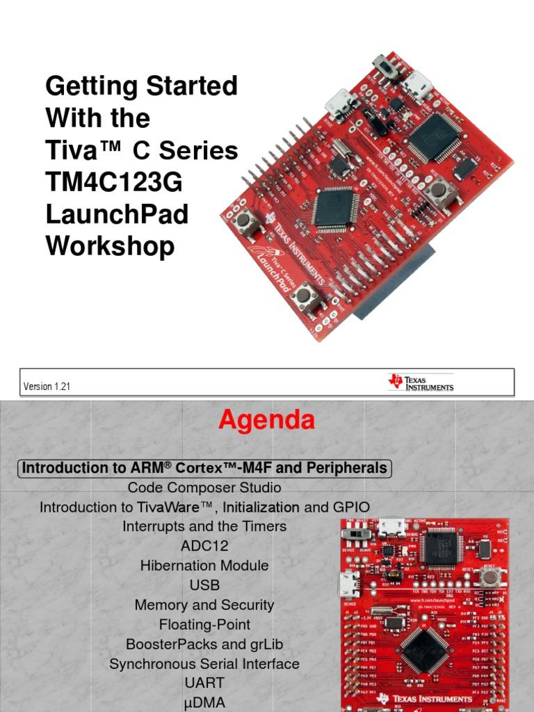 Tiva C Series LaunchPad   Usb   Analog To Digital Converter