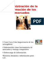 3 Administración de La Información de Los Mercados(1)