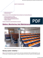 Battery Monitoring and Maintenance _ EEP
