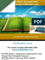 PM 586 HELP Exceptional Education-pm586help.com
