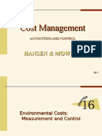 Chapter 16 Environmental Cost