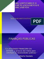 CICLO ORÇAMENTARIO - PLANEJAMENTO FISCAL