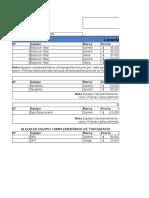 Formato de Listas de Precios