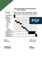 Rincian Jadwal Rencana Pelaksanaan Kerja Praktek Di Pt 2014 Print
