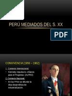 Perú a mediados Del s. XX