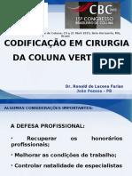 AULA CBC 2015 - CODIFICAÇÃO