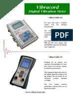 Vibrotech Brochure Ground Vibration DX TX