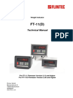 FT-11 FT-11D Technical Manual v.1.35 GB