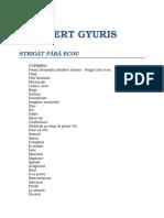 Adalbert Gyuris - Strigat Fara Ecou