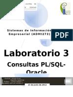 Consultas Oracle