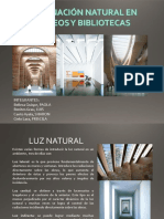 Iluminacion Natural en Museos y Bibliotecas