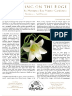 Gardening on the Edge Newsletter, April-May 2007 ~ Monterey Bay Master Gardeners