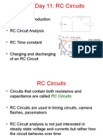 Unit 3 Day 11 PPT - RC Circuits