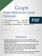 Flow Maksimum Pada Network