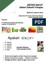 HACCP food industry ex