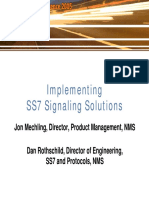 Implementing SS7 Signaling