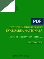 Teste Pregatitoare Cls VIII Ed Paralela 45