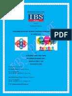 IBS BUSINESS SCHOOL, PUNE Presents International Conference on Social Media Revolution
