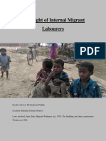Legal Aid Report on Migrant Workers
