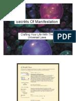 The Secrets of Manifestation