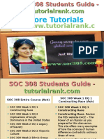 SOC 308 Students Guide -Tutorialrank.com