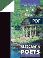 Keats Bloom Major Poets