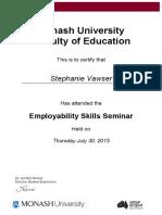 stephanie vawser-employability workshop