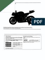 Hrc - 2007 Cbr600rr Set-up Manual