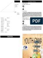 Youth Camp Program